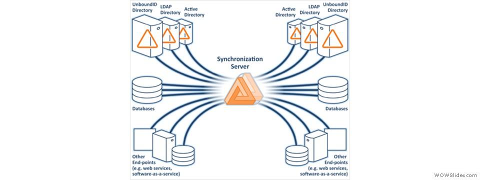 Synchronized server